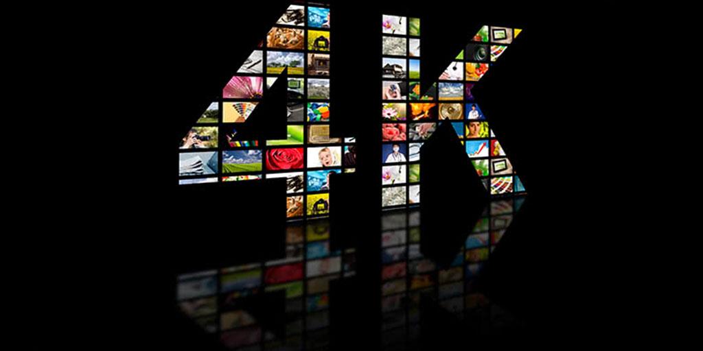 afbeelding van 4K met verschillende video's in