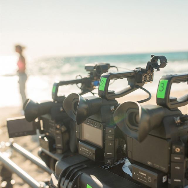 FFT feelfantesstic western spaghetti's camera video productie canon c100 set up