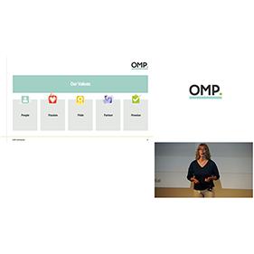 OMP OM partners rebranding video live streaming