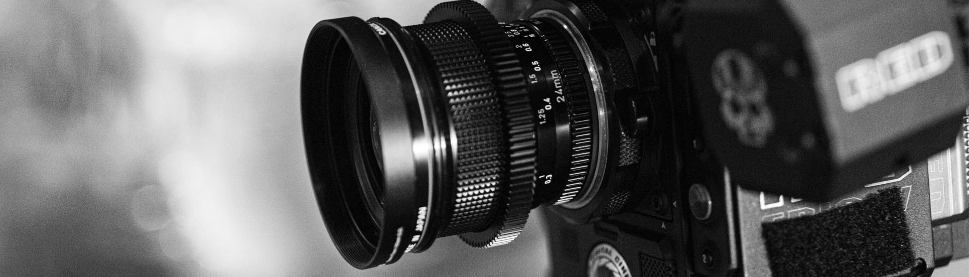 RED Camera vintage lens video marketing brand image online strategie verhaal storytelling